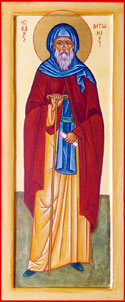 Saint Anthony thee Great